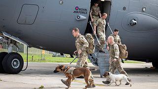 نظامیان بریتانیایی