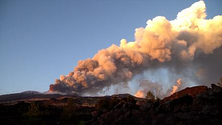 Mount Etna spews lava, plumes of ash in Sicily