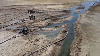 Drying Euphrates threatens disaster in Syria