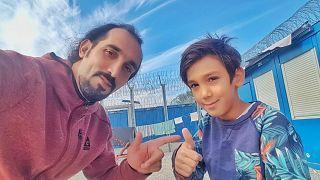 Képkocka a Verzió filmfesztiválon bemutatott videóból - Abouzar Soltani és fia, Armin