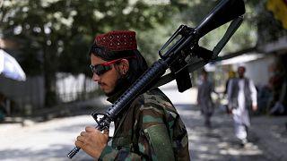 یک ستیزهجوی طالبان در کابل
