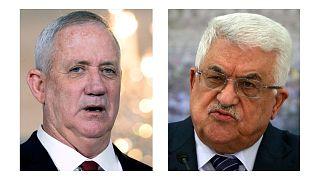 محمود عباس و بنی گانتس باهم دیدار کردند