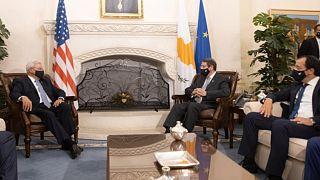 Συνάντηση του Αμερικανού Γερουσιαστή Μενέντεζ με τον Νίκο Αναστασιάδη