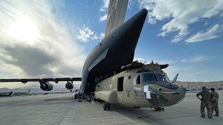 ABD Afganistan'dan çekildi