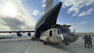 خروج نهایی نیروهای آمریکایی از افغانستان
