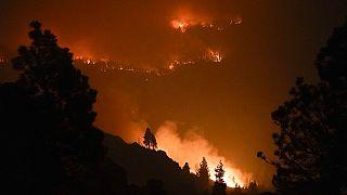 El incendio Caldor calcina California