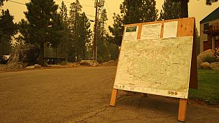 Devastating wildfire in Northern California