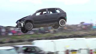 مسابقة القفز بالسيارات