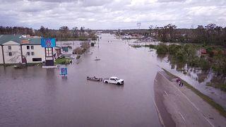 تصاویری از نیواورلئان یک روز پس از توفند آیدا