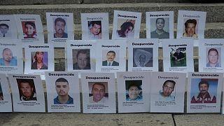 تصاویر گروهی از ناپدیدشدگان در مکزیک