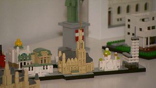 Un artiste viennois reproduit des bâtiments de la capitale autrichienne avec des briques LEGO
