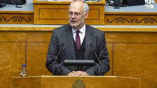 Alar Karis addressed MPs at Estonia's Parliament on Tuesday after the vote.