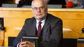 Alar Karis tomou posse como presidente da Estónia