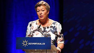 AB Komisyonu'nun içişlerinden sorumlu üyesi Ylva Johansson