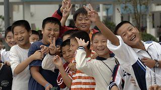 Çin'de yeni ders yılı başladı