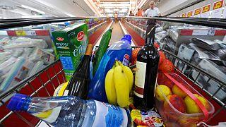 سوپرمارکت در درسدن آلمان
