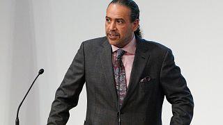 الشيخ أحمد الفهد الصباح الرئيس السابق لاتحاد اللجان الأولمبية الوطنية (أنوك).
