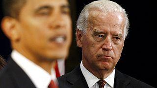 Eski ABD Başkanı Barack Obama ve Yardımcısı Joe Biden, 24 Kasım 2008