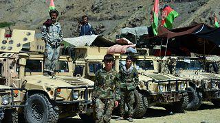 Afganistan'ın Pencşir vilayetinde konuşlu Taliban karşıtı direniş güçleri