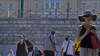 Πλατεία Συντάγματος στην εποχή της πανδημίας