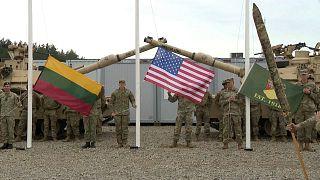 Base militar dos EUA na Lituânia