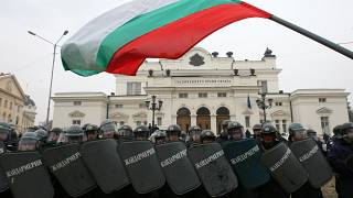 پرچم و پارلمان بلغارستان