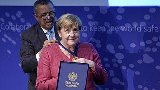 Angela Merkel inaugure à Berlin un centre de l'OMS destiné à détecter les futures pandémies