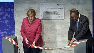 A német kancellár és a WHO vezetője megnyitják a berlini intézményt