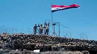 عکس آرشیوی از نظامیان سوری در درعا