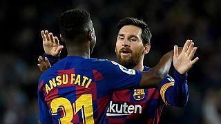 Ansu Fati dans les pas de Lionel Messi