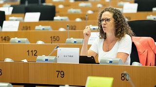 Sophie In 't Veld az EP LIBE szakbizottságának 2021. szeptember elsejei ülésén