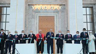 Cumhurbaşkanı Erdoğan yargı binası açılışı