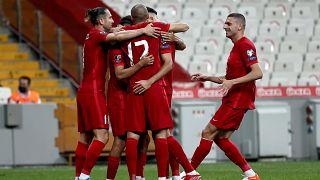 Türkiye-Karadağ maçı