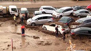 Piogge alluvionali in Catalogna, bloccate località balneari