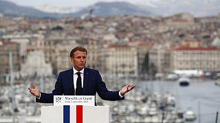 Emmanuel Macron à Marseille le 2 septembre 2021