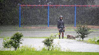 Βροχοπτώσεις - ρεκόρ στην ανατολική ακτή των ΗΠΑ