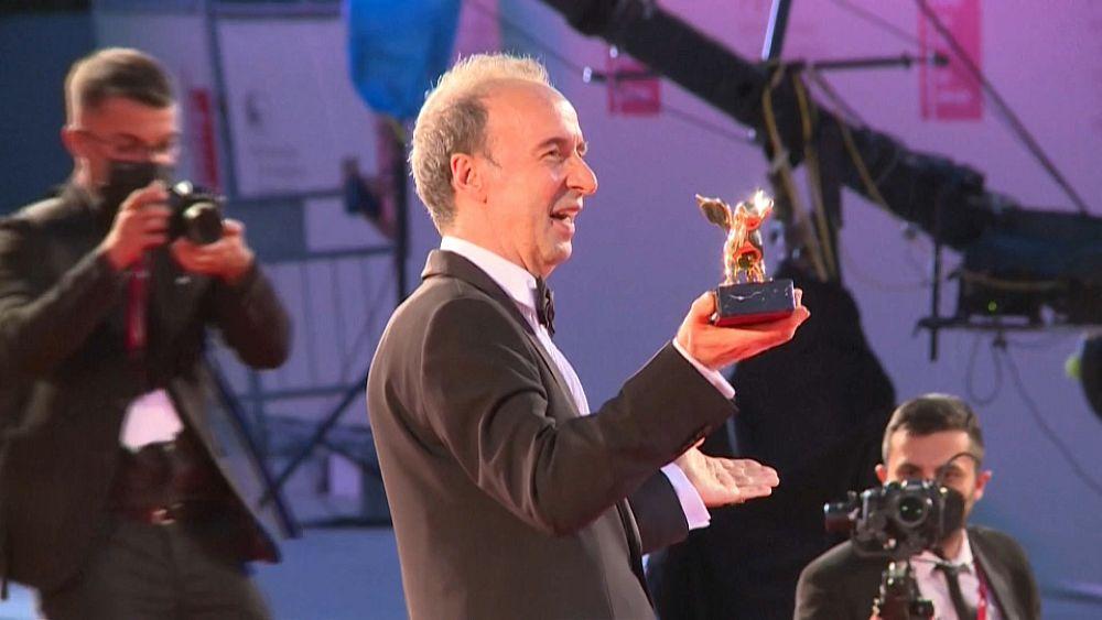 Roberto Benigni kapta az életmű-díjat a Velencei Filmfesztiválon