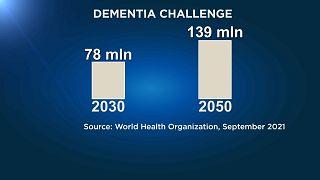 ВОЗ призывает поддержать людей с деменцией