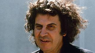 Greek composer Mikis Theodorakis is pictured in Athens, Aug. 21, 1974.