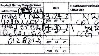 Sahte Covid-19 aşı kartı