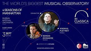 The 10th edition of the InClassica International Music Festival is being hosted in Dubai.