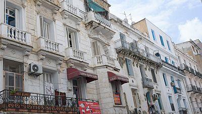 Tunisia: European-style city center in Tunis threatened with extinction