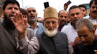 Senior separatist leader Syed Ali Shah Geelani