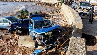 Inondazioni nelle coste orientali della Spagna
