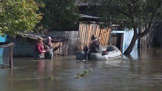 Far East heavy floods