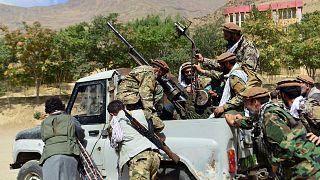 نیروهای وفادار به احمد مسعود در پنجشیر
