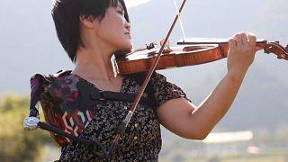 Manami Ito, la violinista-atleta che ha incantato le Paralimpiadi