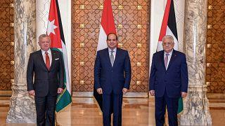 Abdallah II et Abbas chez al-Sissi pour discuter de Jérusalem