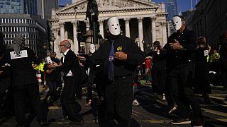 Διαμαρτυρία των ακτιβιστών της Extinction Rebellion-2/9/2021