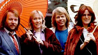 اعضای گروه «آبا» در سال ۱۹۸۰